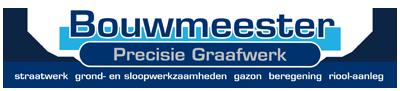 Bouwmeester – Precisie Graafwerk Logo